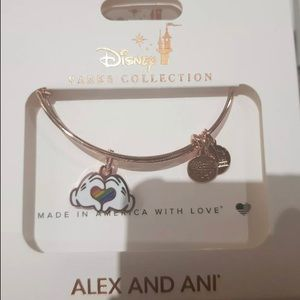 Disney Alex and Ani 🌈 Mickey Mouse Heart Bangle